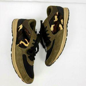 Sam Edelman 10 Des sneakers tennis shoes cheetah